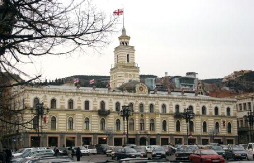 Акции протеста уволенных врачей скорой помощи в Тбилиси